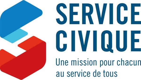 image : Logo Service Civique