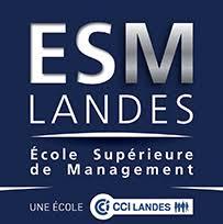 image : Logo école supérieur de Management des Landes