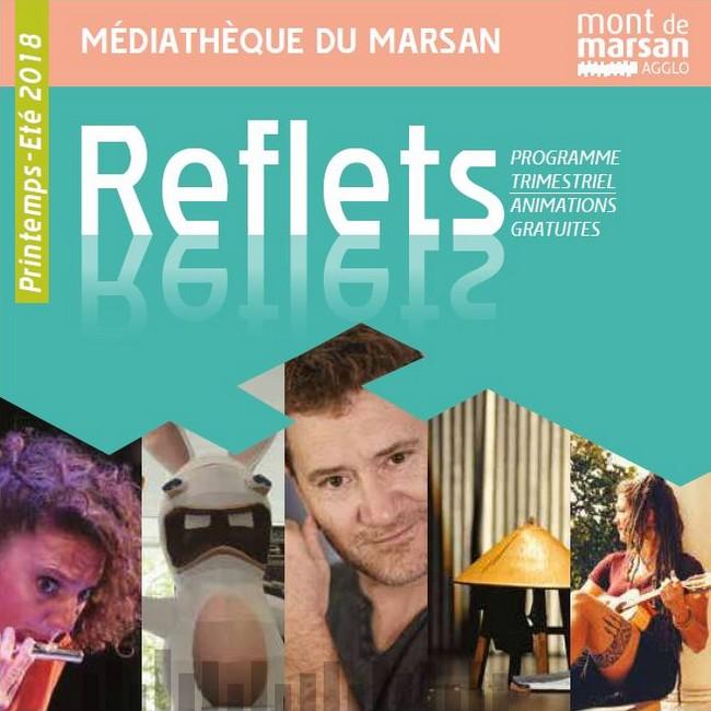 image : Couverture du Reflet 16 - Médiathèque Mont de Marsan Agglo
