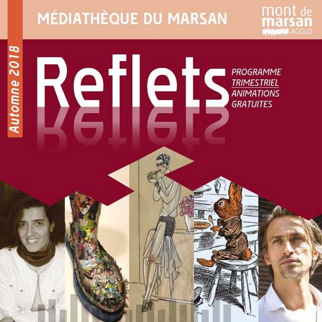 image : animation de la Médiathèque - Reflet automne 2018 - Mont de Marsan Agglo