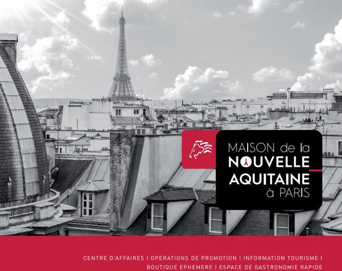 image : Maison de la Nouvell-Aquitaine à Paris