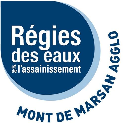 image : Logo de la Régie des Eaux - Mont de Marsan Agglo