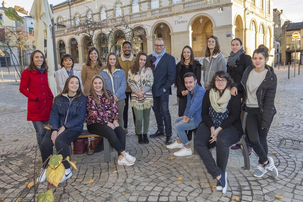 image : Participants au Service civique 2018-2019 - Mont de Marsan Agglo
