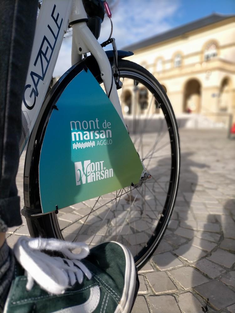image : Lagglo à vélo - Mont de Marsan Agglo