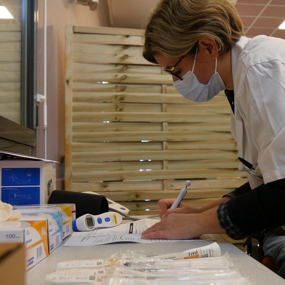 image : Centre de vaccination - Mont de Marsan