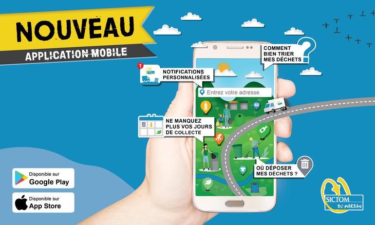 image : Bandeau Appli mobile Sictom du Marsan - Mont de Marsan Agglo
